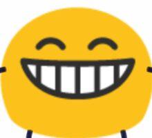smile orange monster Sticker