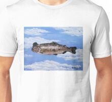 Fish with Bowler Unisex T-Shirt