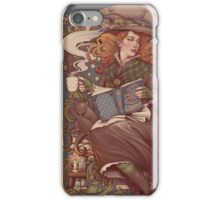 NOUVEAU FOLK WITCH iPhone Case/Skin
