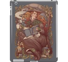 NOUVEAU FOLK WITCH iPad Case/Skin