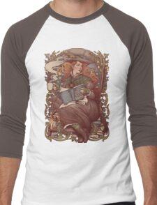 NOUVEAU FOLK WITCH Men's Baseball ¾ T-Shirt