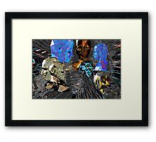 We Can See Your Ethernet Cable Framed Print