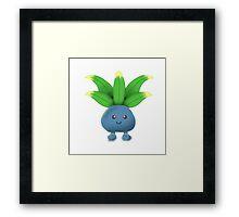 Oddish Pokemon  Framed Print