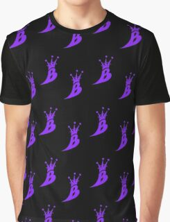 Lil' Kim The Queen Bee Logo Collection - ALL OVER PRINT EDITION (Purple) Graphic T-Shirt