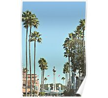Hollywood Boulevard Strip Poster