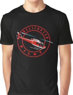 ASTAR Helicopter pilot Graphic T-Shirt