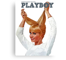 Playboy October 1965 Canvas Print