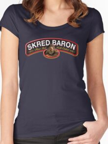 SKRED RED!! Women's Fitted Scoop T-Shirt