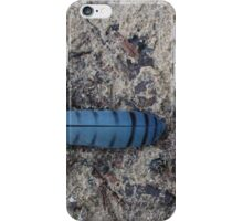 A Blue Jay Feather iPhone Case/Skin