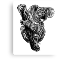 Ornate Koala Canvas Print