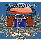 Team Australia! by firstdog