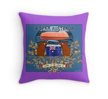 Team Australia! Throw Pillow