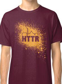 Redskins - HTTR, DC Skyline on Spray Classic T-Shirt