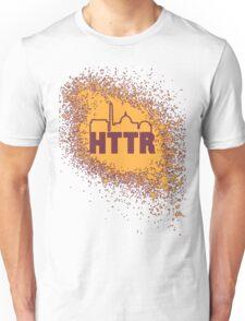 Redskins - HTTR, DC Skyline on Spray Unisex T-Shirt