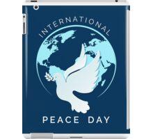 International Peace Day Illustration iPad Case/Skin