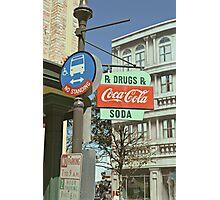 RxDrugs & Coca Cola Photographic Print