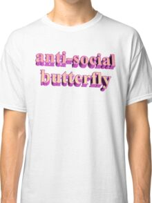 ANTISOCIAL BUTTERFLY TUMBLR Classic T-Shirt