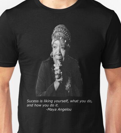 Maya Angelou Unisex T-Shirt