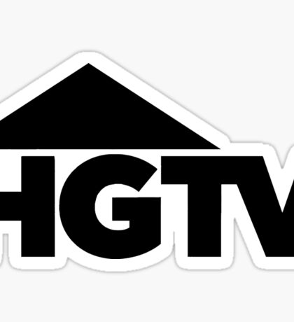 HGTV logo Sticker