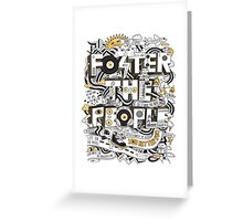 foster the people 2 Greeting Card