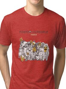 foster the people 3 Tri-blend T-Shirt