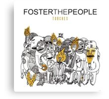 foster the people 3 Canvas Print