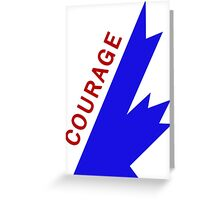 courage style 2016 Greeting Card
