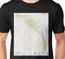 USGS TOPO Map Arizona AZ Black Diamond Peak 310491 1985 24000 Unisex T-Shirt
