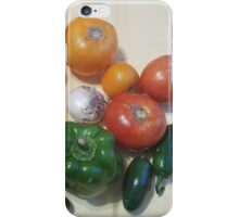 Salsa Vegetables iPhone Case/Skin