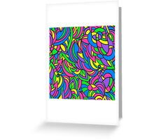 Colorful pattern. Greeting Card