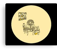 foster the people houdini Canvas Print