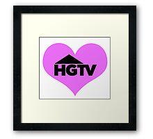 I love HGTV Framed Print