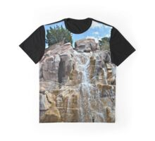 Canadian Waterfall Graphic T-Shirt