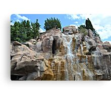 Canadian Waterfall Canvas Print
