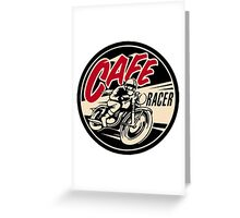 cafe racer Greeting Card