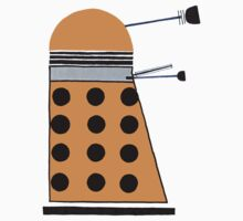 Dalek (Orange) Kids Clothes