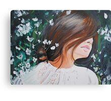 Her Daydreams Grew  Canvas Print