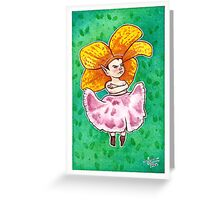 Ornery Orchid Greeting Card