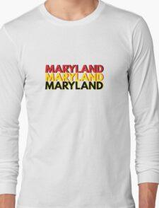 Triple MARYLAND Long Sleeve T-Shirt