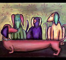 Hotdog by Jenny Wood