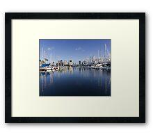 Ala Wai Harbor Framed Print