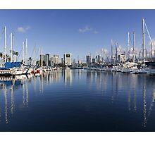 Ala Wai Harbor Photographic Print