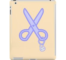 Cute scissors iPad Case/Skin