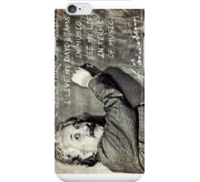Einstein The Music Lover iPhone Case/Skin
