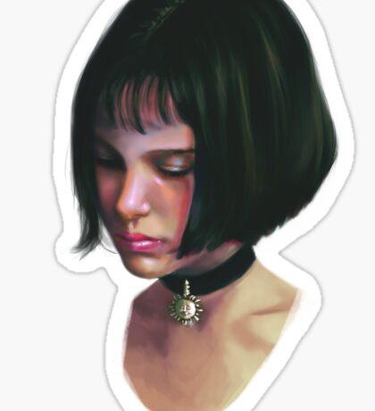 Mathilda. Sticker