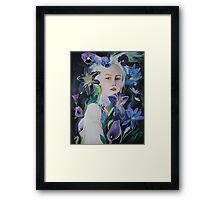 She Flourished Framed Print