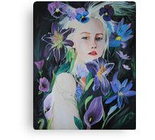 She Flourished Canvas Print