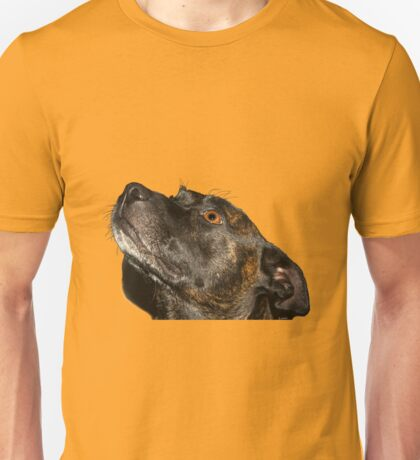 The cutiest staffie Unisex T-Shirt