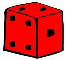 Red Dice by kwg2200