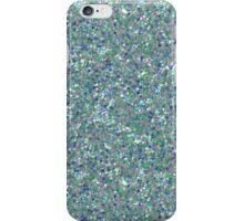 blue glitter iPhone Case/Skin